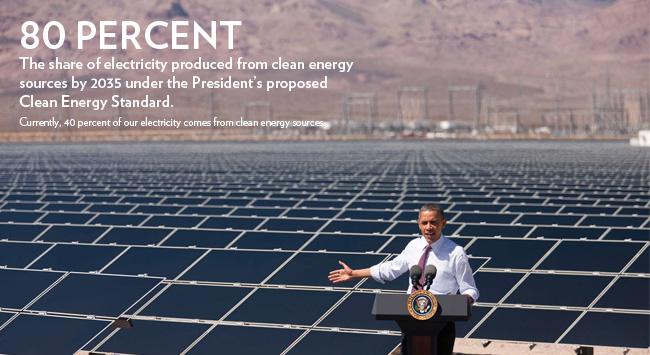 Obama in solar field