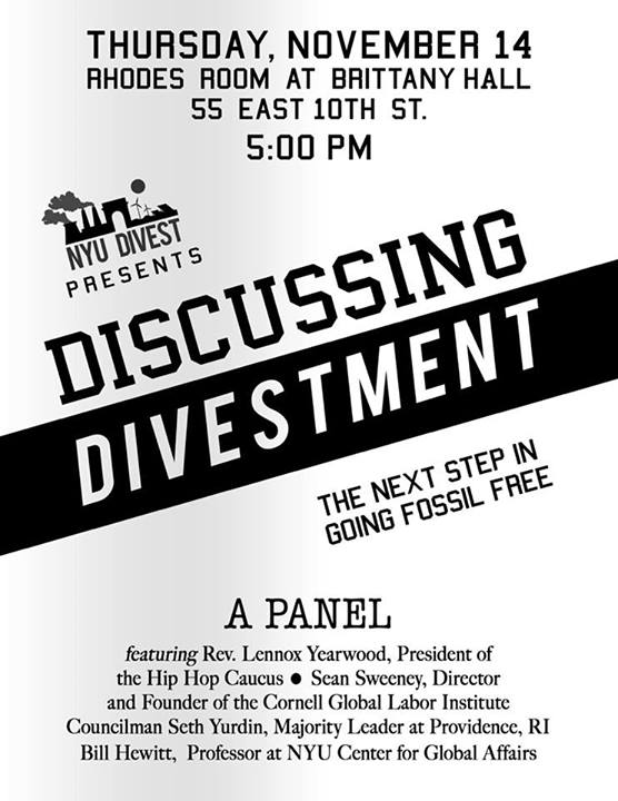divestment poster