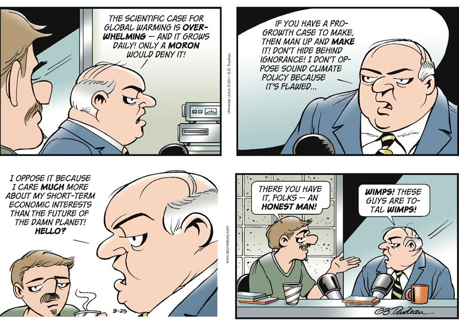climate policy doonesbury