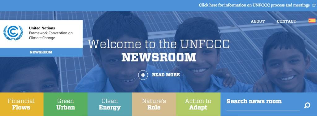 unfccc newsroom