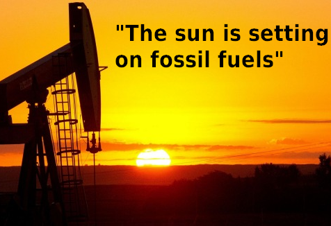 end of fossil fuels